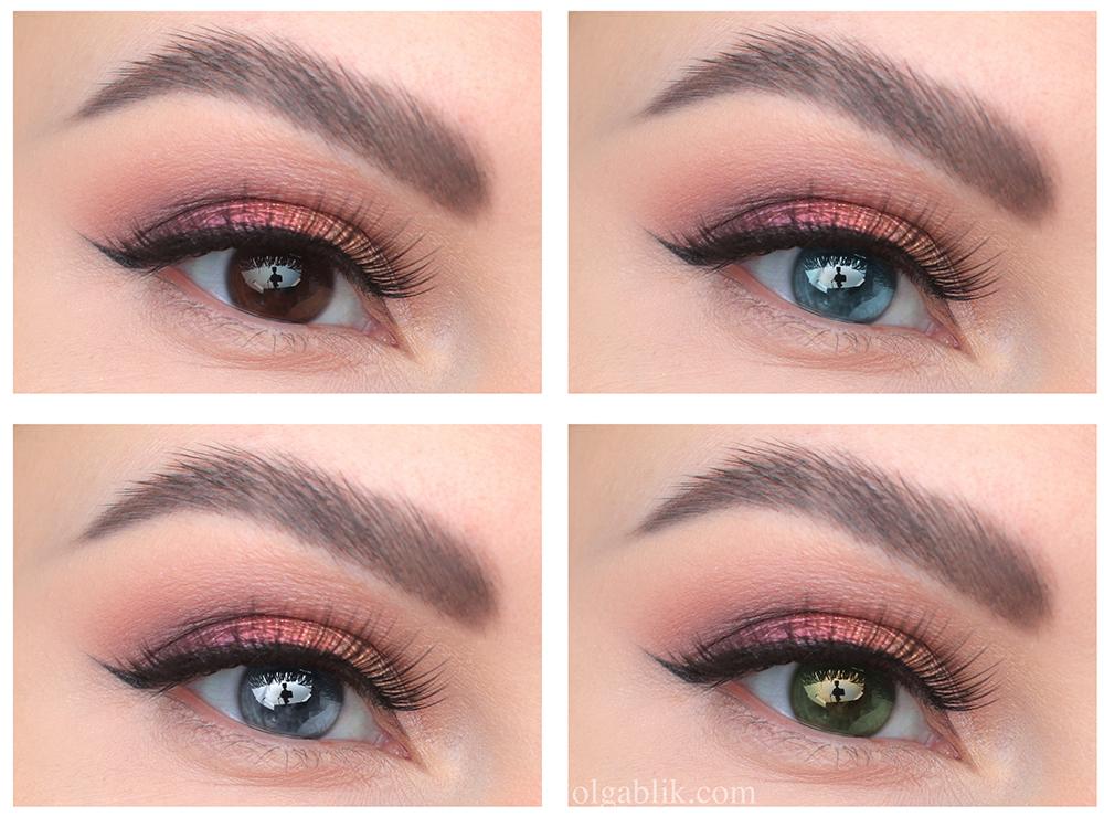 Пошаговый макияж глаз со стрелками на глазах