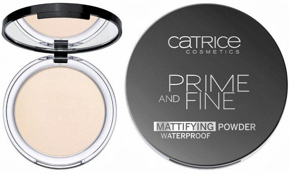 Пудра для лица матирующая Catrice Prime and Fine Mattifying Powder Waterproof