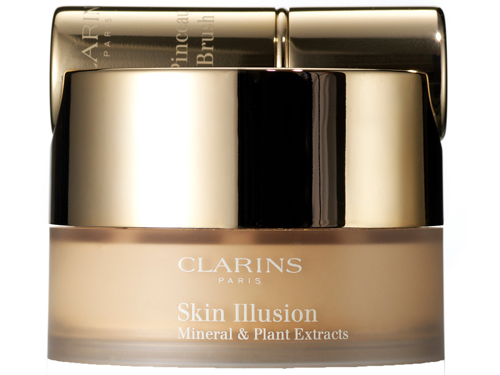 Минеральная пудра-основа Clarins The Skin Illusions Loose Powder Foundation