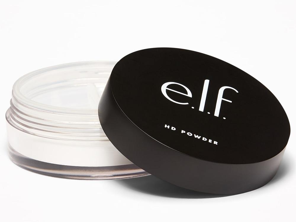 Лучшая рассыпчатая пудра для лица - HD-пудра E.L.F. High Definition Powder