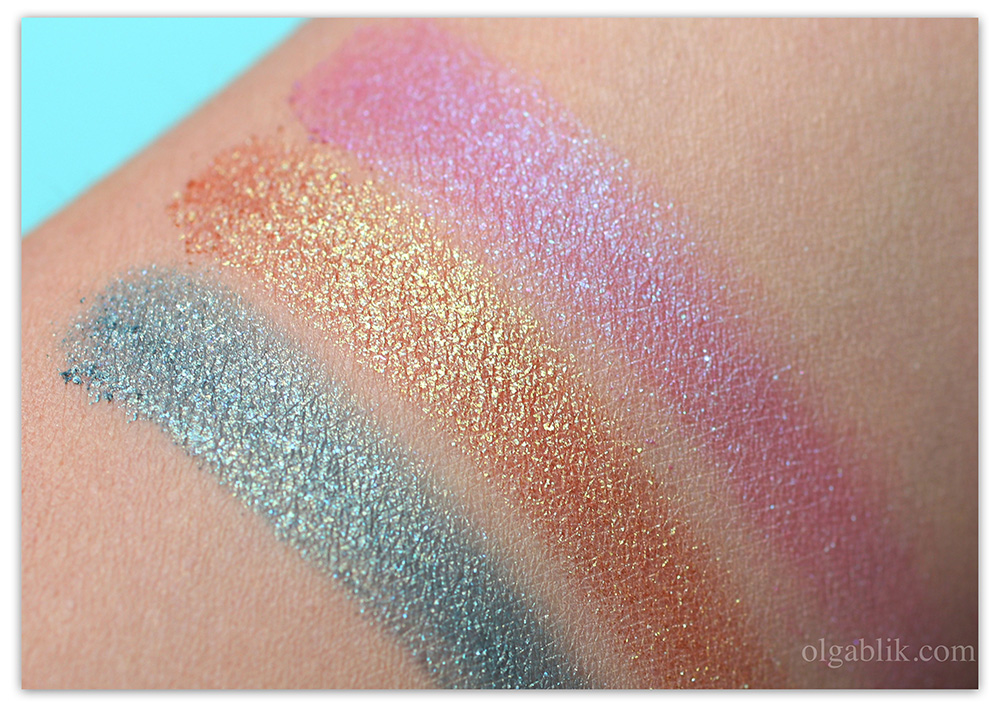 Сияющие тени PUPA Unexpected BEAUTY Eyeshadow.