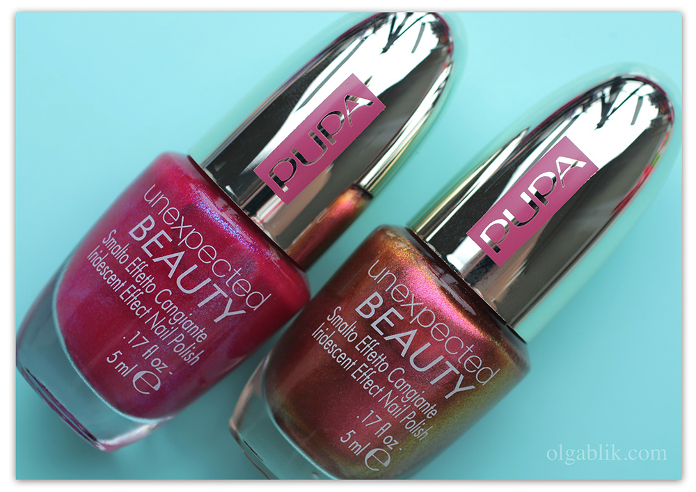Лак для ногтей PUPA Unexpected BEAUTY Nail Polish