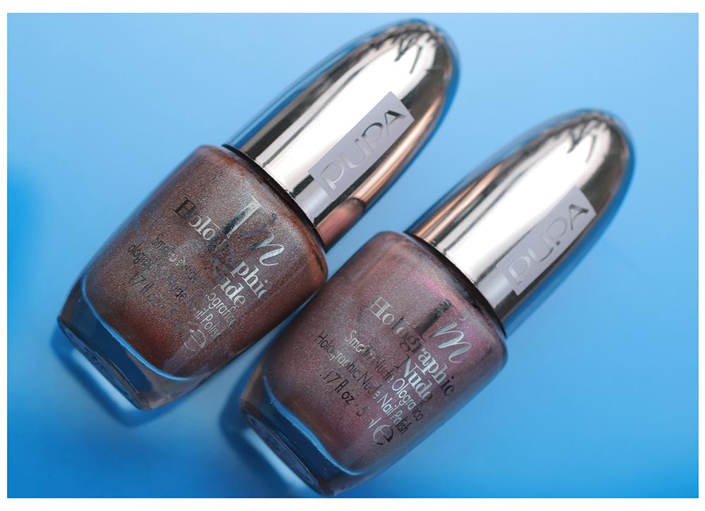 I'M Nude Collection - лак для ногтей Pupa I'm Holograpic Nude Nail Polish
