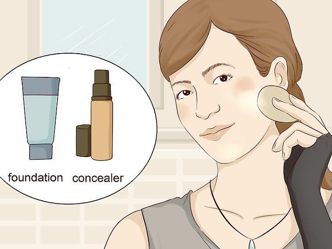 Использовать вместо консилера тональный крем