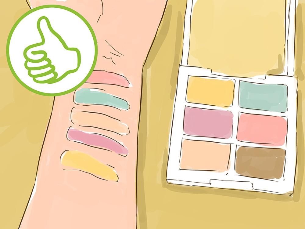 Корректор для лица - как выбрать цвет корректора