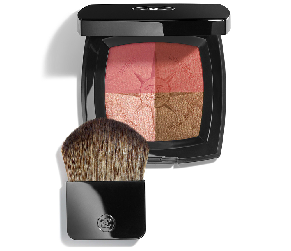 Палетки для макияжа лица 2019 - Chanel Voyage de Chanel Blush & Illuminating Face Palette