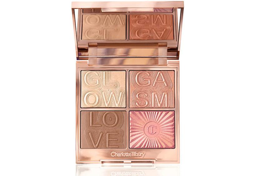 Палетки для макияжа лица 2019 - Charlotte Tilbury Glowgasm Face Palette