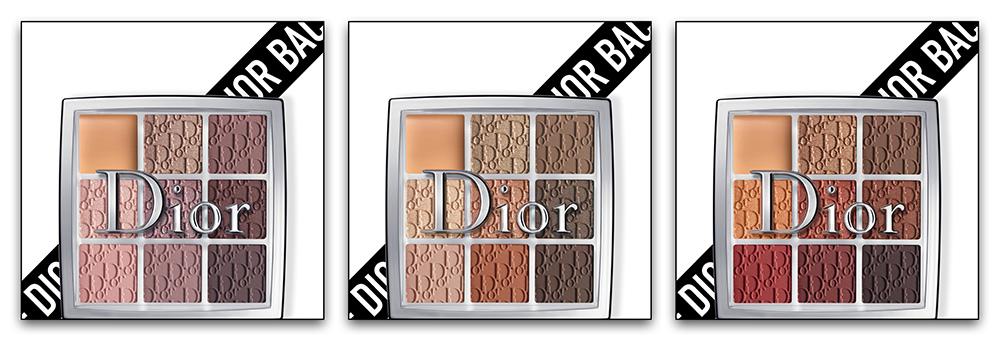 Новые палетки теней 2019 - Dior Backstage Eye Palette