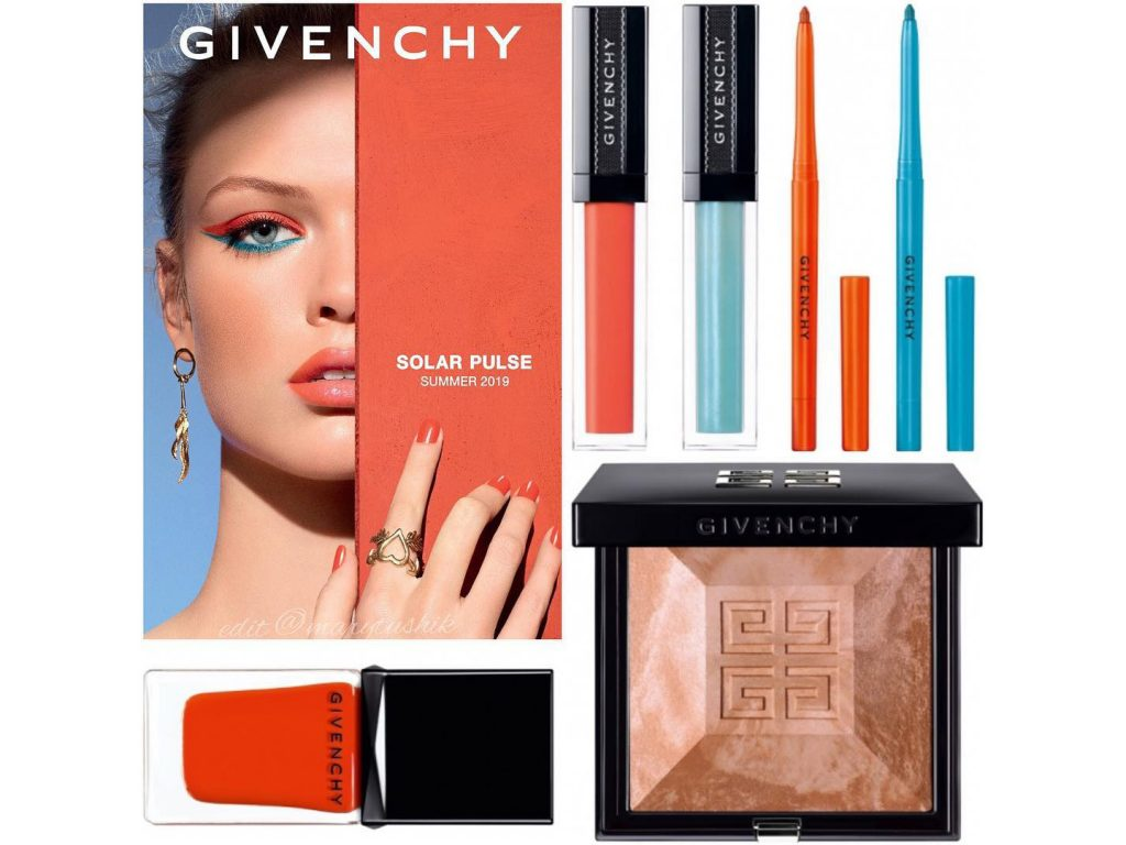 Новинки косметики Givenchy Solar Pulse Makeup Collection Summer 2019