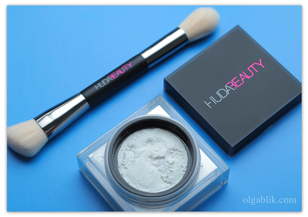 Рассыпчатая пудра для лица Huda Beauty Easy Bake Loose Powder - отзывы