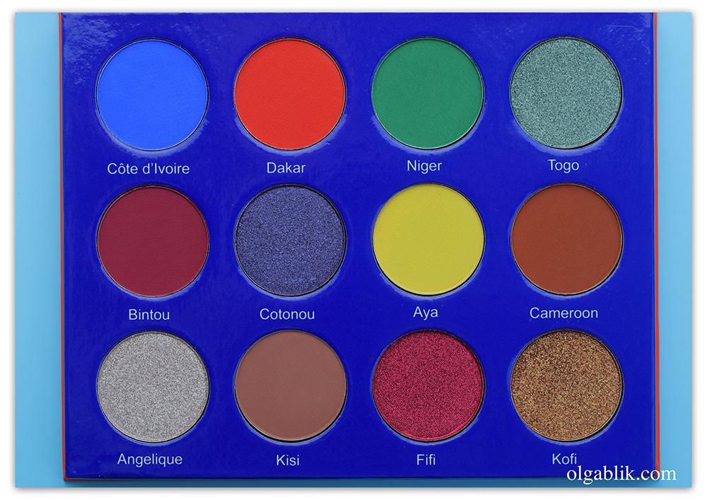 Макияж с палеткой для век Juvia's Place Afrique Eyeshadow Palette