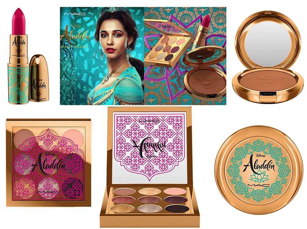Новинки декоративной косметики 2019 - MAC x Disney Aladdin Makeup Collection Summer 2019