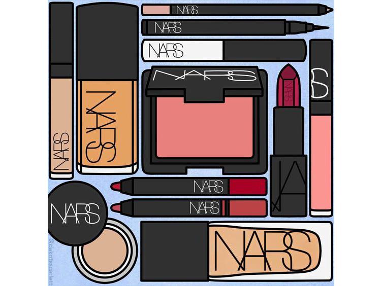 NARS Cosmetics - Косметика для макияжа лица и глаз
