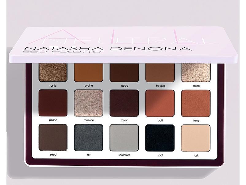 Новые палетки теней 2019 - Natasha Denona Biba Eyeshadow Palette