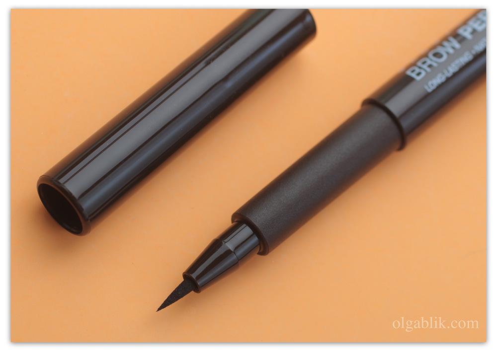 Фломастер для бровей Relouis Brow Permanent Marker - маркер Релуи