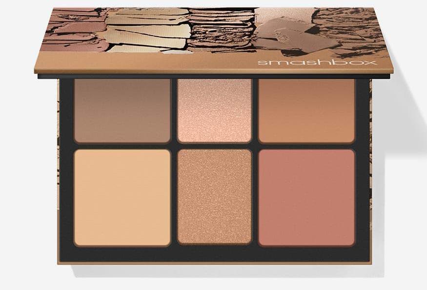 Палетки для макияжа лица 2019 - Smashbox Cali Kissed Face Palette