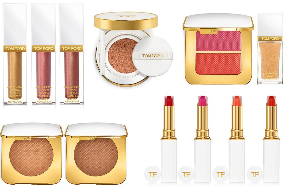 Новинки декоративной косметики 2019 - Tom Ford Soleil Makeup Collection Summer 2019