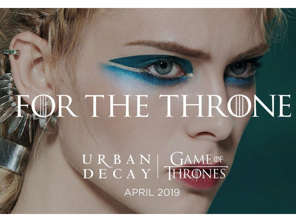 Новинки косметики 2019 - Urban Decay Game of Thrones Collection