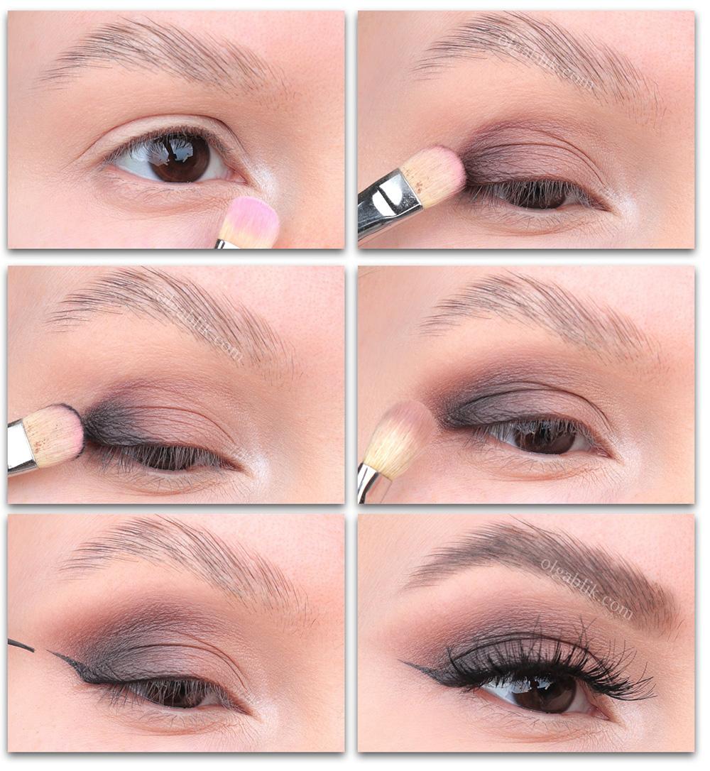 Нежный вечерний макияж глаз - фото, описание, поэтапный урок