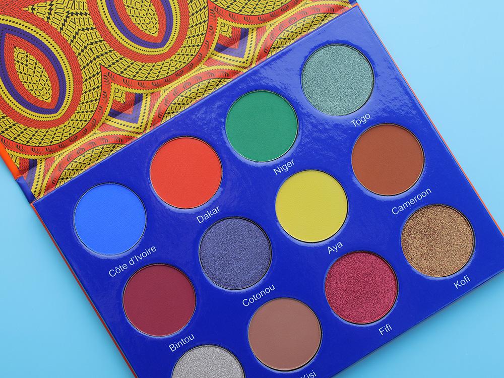 Палетка теней Afrique Eyeshadow Palette – Juvia's Place