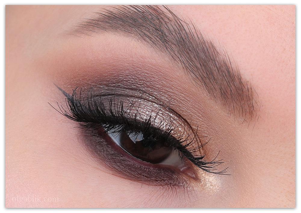 Коричневый Смоки Айс - фото, макияж глаз, Smoky Eyes