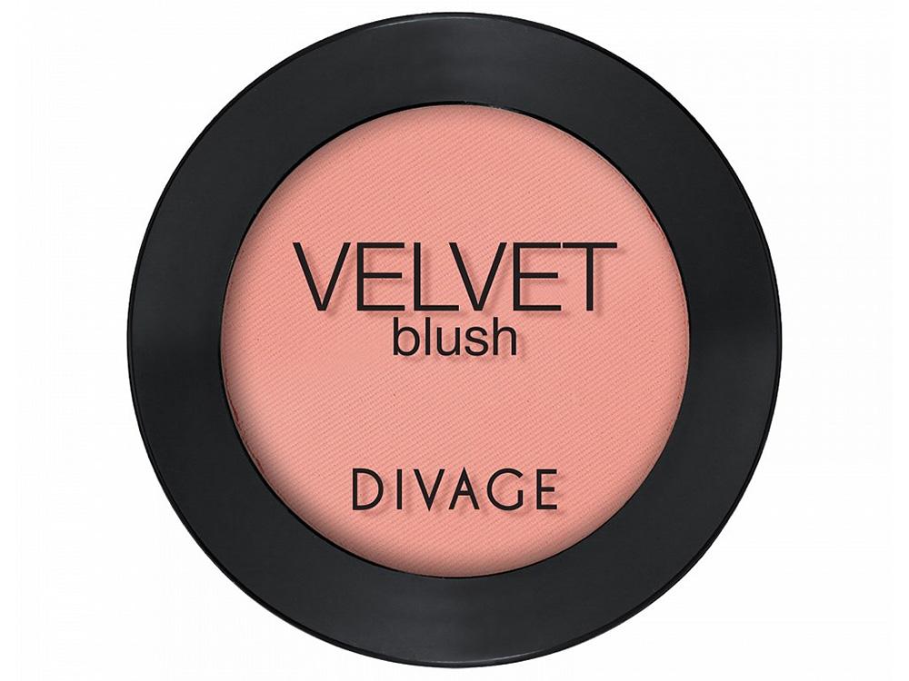 Лучшие румяна для лица - Divage Velvet Blush