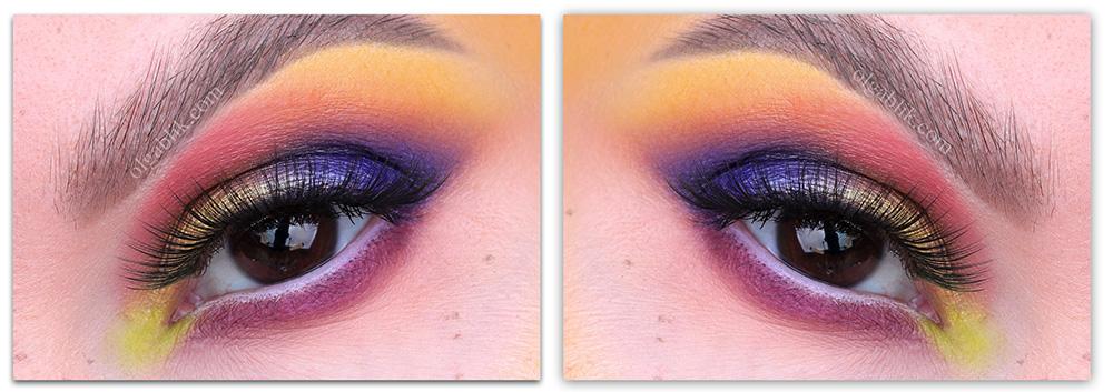 Макияж для летнего фестиваля - фото макияж глаз