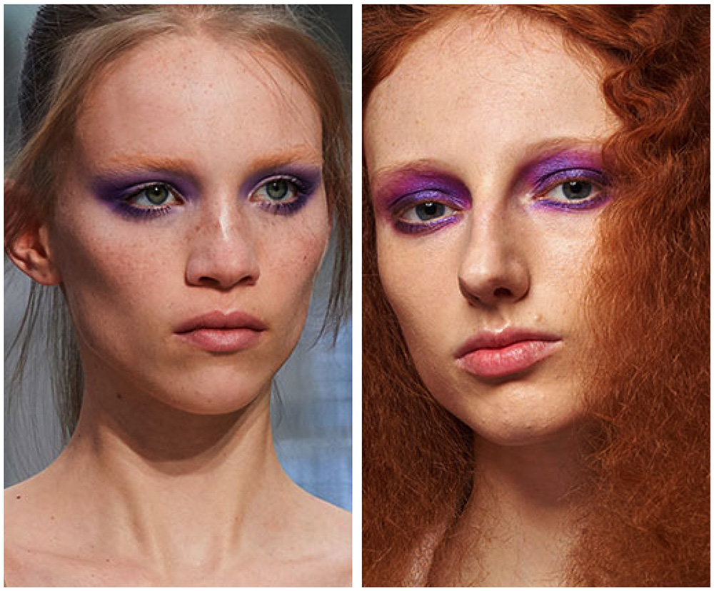 Модные тенденции в макияже глаз 2019-2020 осень-зима: фото
