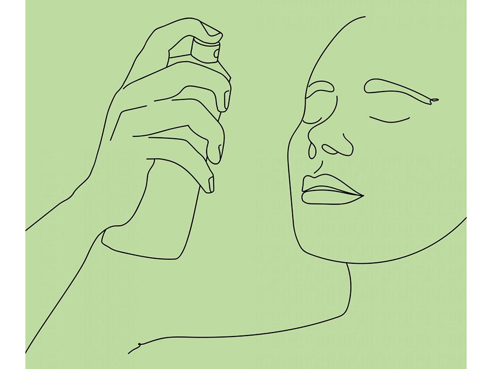 Спрей для фиксации макияжа - как использовать и наносить