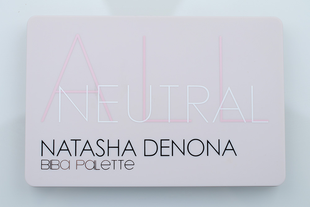 All Neutral Biba Eyeshadow Palette - Natasha Denona