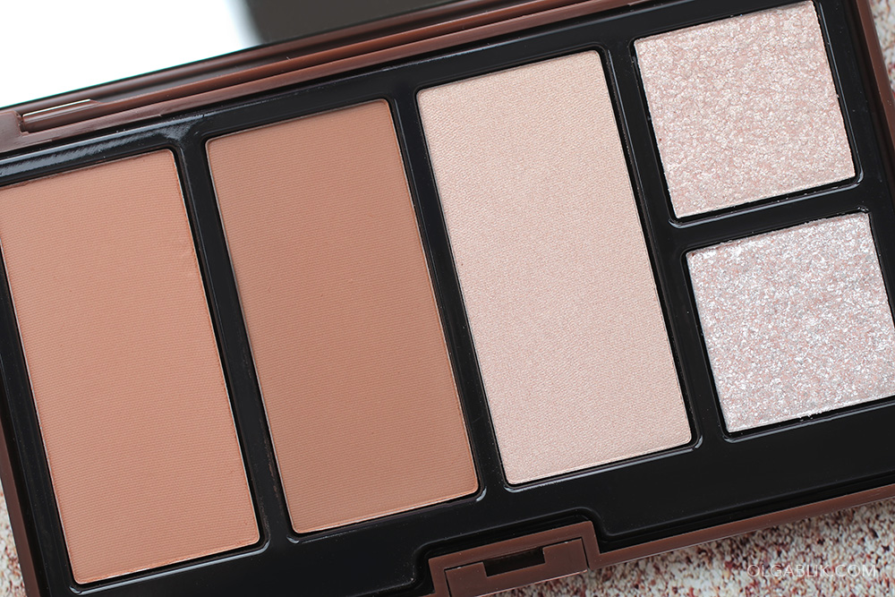 Pupa Make Up Bronzing & Glowing All in One Palette - фото, отзывы, свотчи