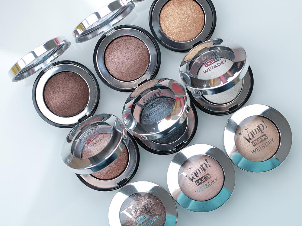 Запеченные тени Pupa Vamp! Wet & Dry Eyeshadow
