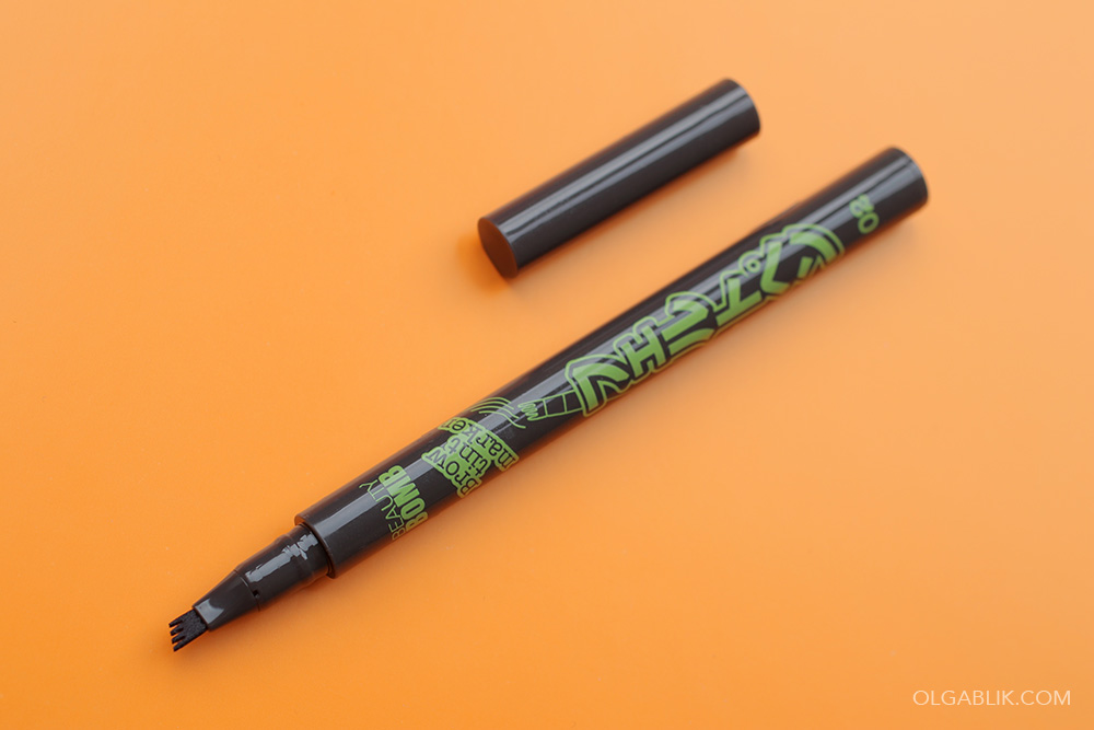Как пользоваться маркером для бровей с зубчиками