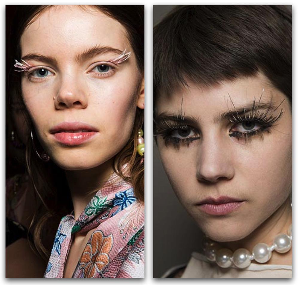 Макияж-2020: модные тенденции в макияже - Декоративные накладные ресницы
