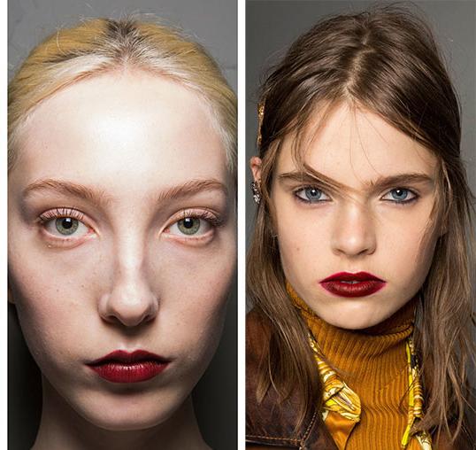 Макияж губ-2020 Винный макияж
