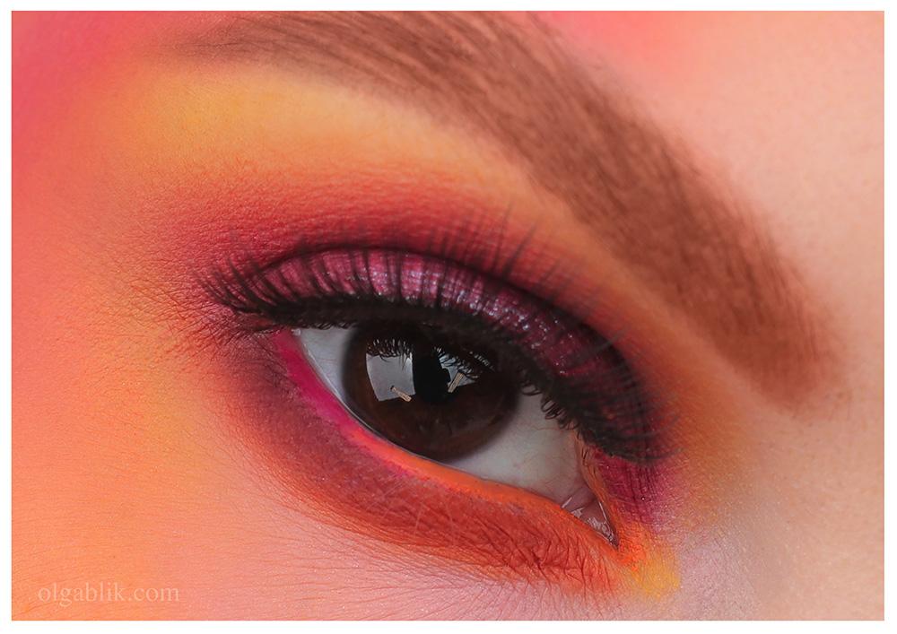 Макияж с палеткой Sunrise Eyeshadow Palette - Natasha Denona