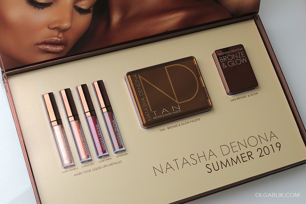 Mini Bronze & Glow Cheek Duo - Natasha Denona
