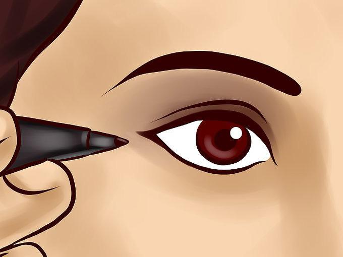 6 ошибок в макияже глаз для нависших век
