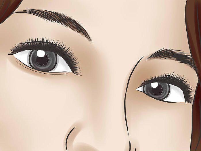 Как накрасить глаза если веки опущены