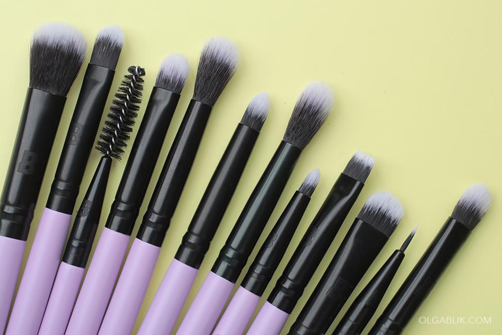 Beauty Bay Eye Wonder 12 Piece Eye Brush Set With Brush Roll