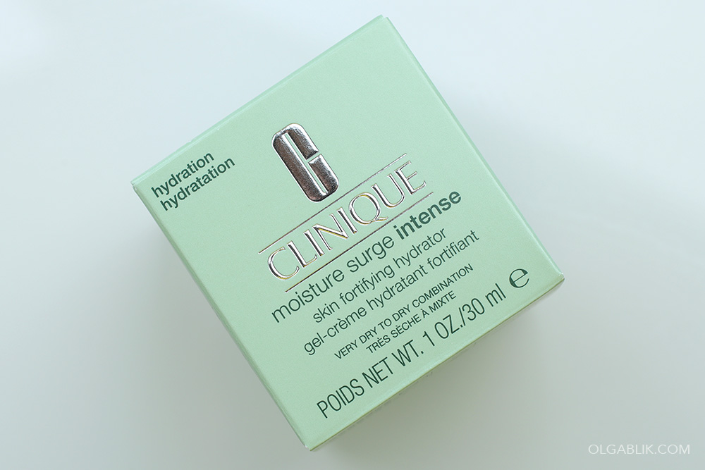 Clinique Moisture Surge Intense Skin Fortifying Hydrator - отзывы