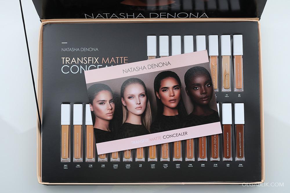 Transfix Matte Concealer - Natasha Denona: отзывы и фото