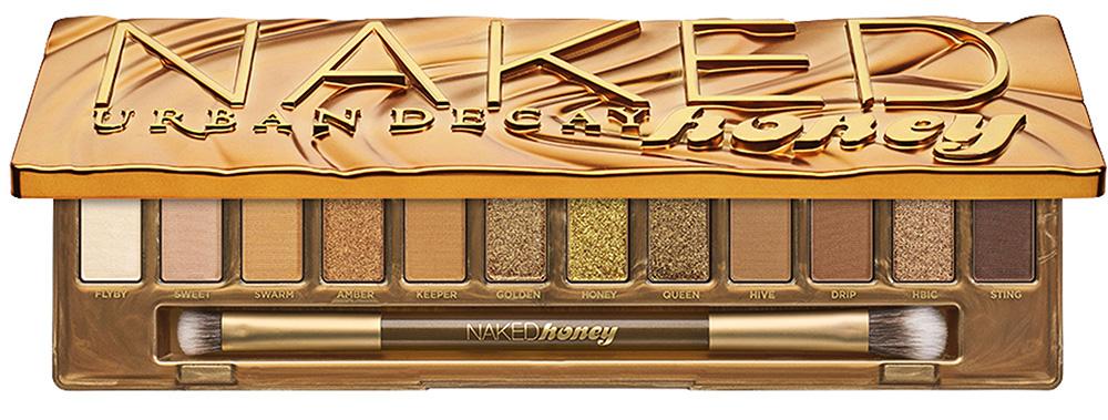 Палетки для макияжа глаз 2019 - Urban Decay Naked Honey Eyeshadow Palette