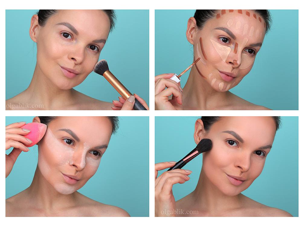 Бейкинг - схема нанесения, фото инструкция и урок макияжа