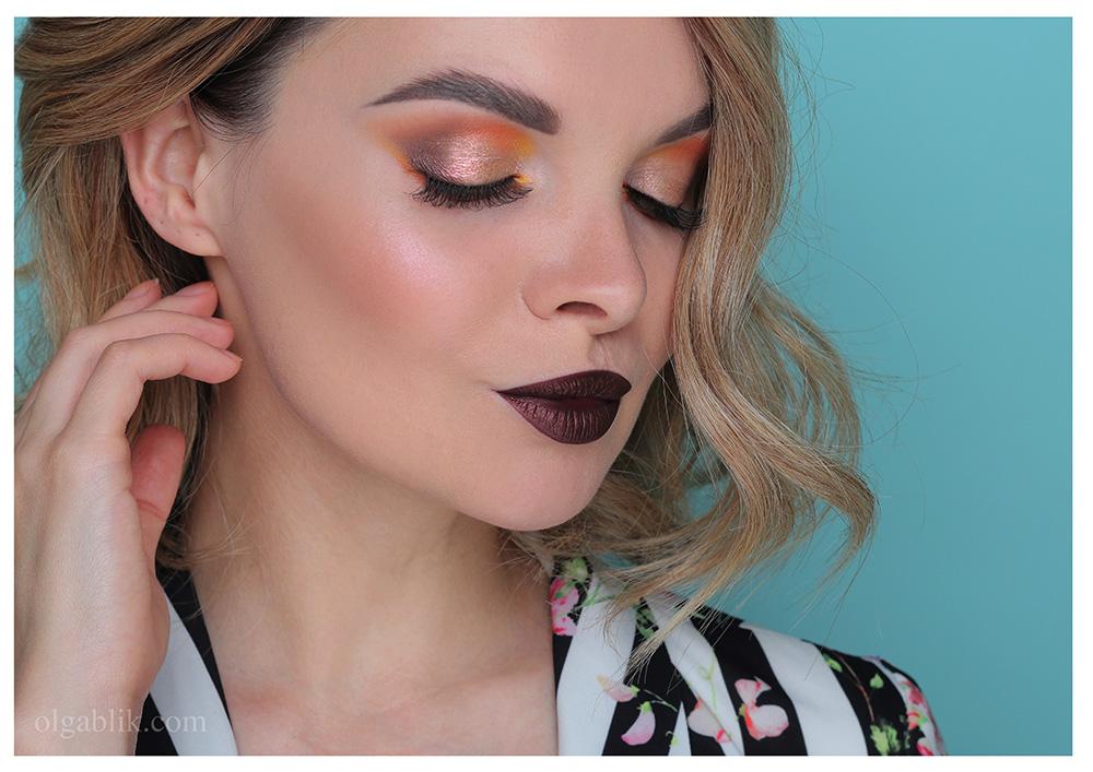 Осенний макияж 2019