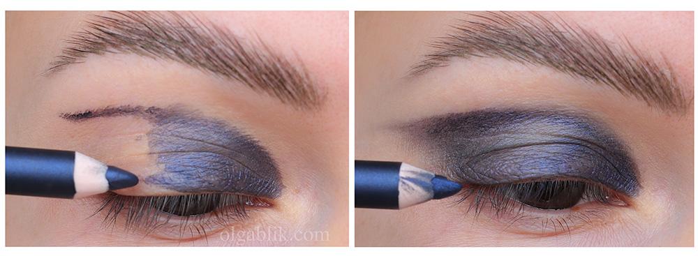 Как сделать макияж с блестками - пошаговый фото урок