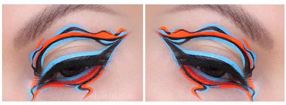 Как полюбить креативный макияж