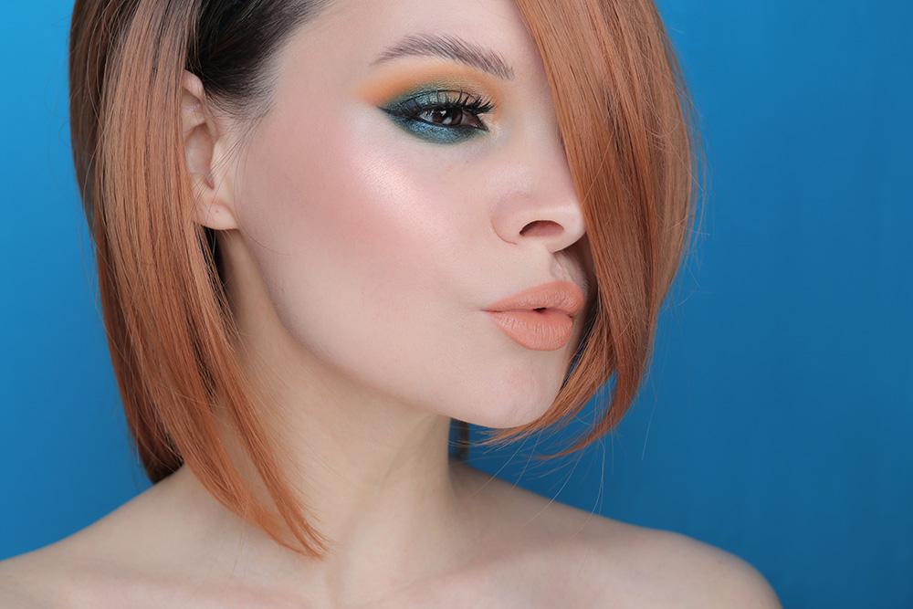 Макияж с палеткой Metropolis Eyeshadow Palette от Наташи Деноны