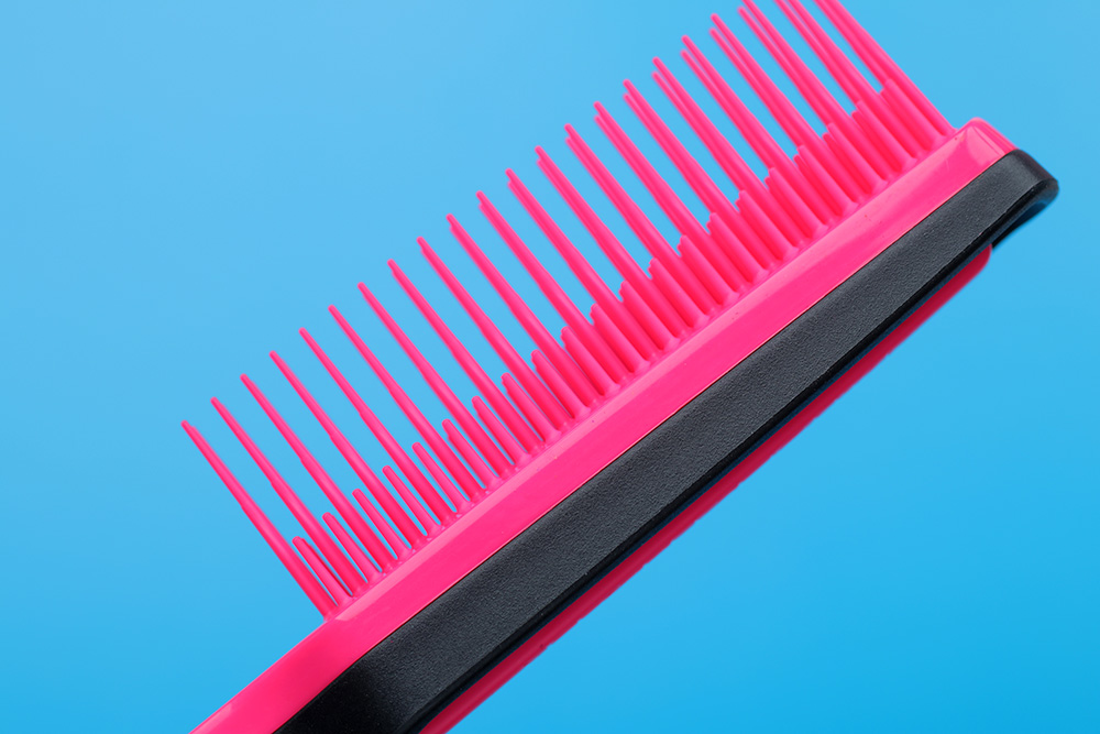Tangle Teezer Back Comb Brush - Pink