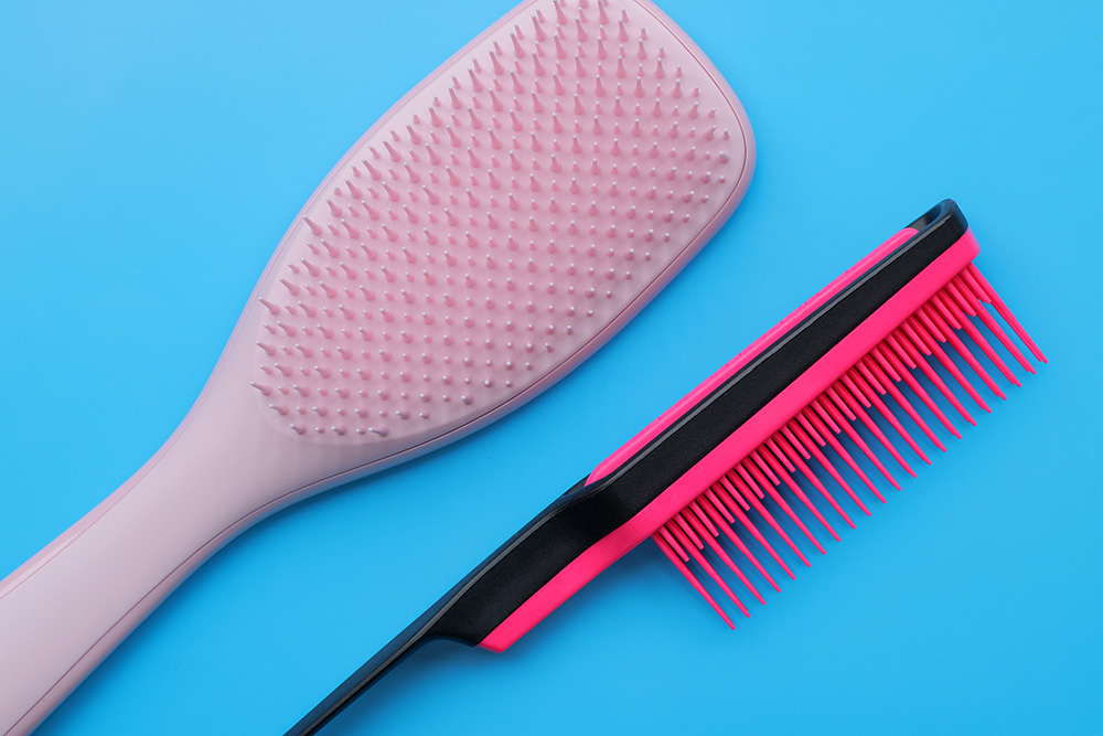 Tangle Teezer The Wet Detangler Hair Brush - Millennial Pink